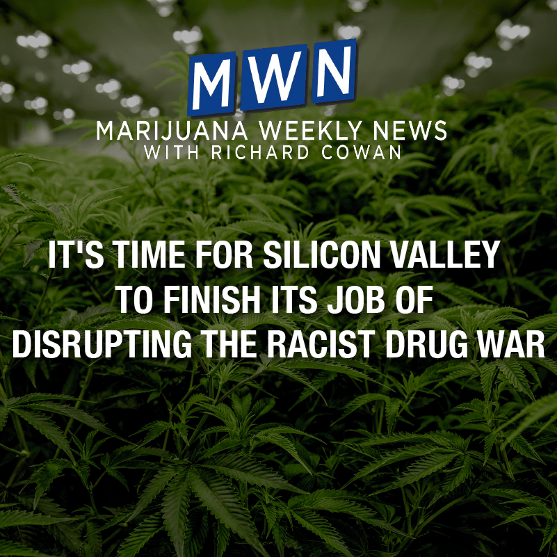 It's Time for Silicon Valley To Complete Its Job of Disrupting the Racist Drug War
