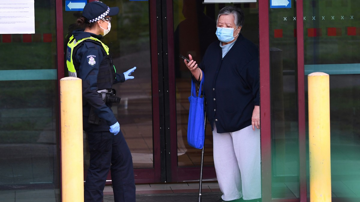 Melbourne Put Back on Stage Three Lockdown as COVID Cases Surge