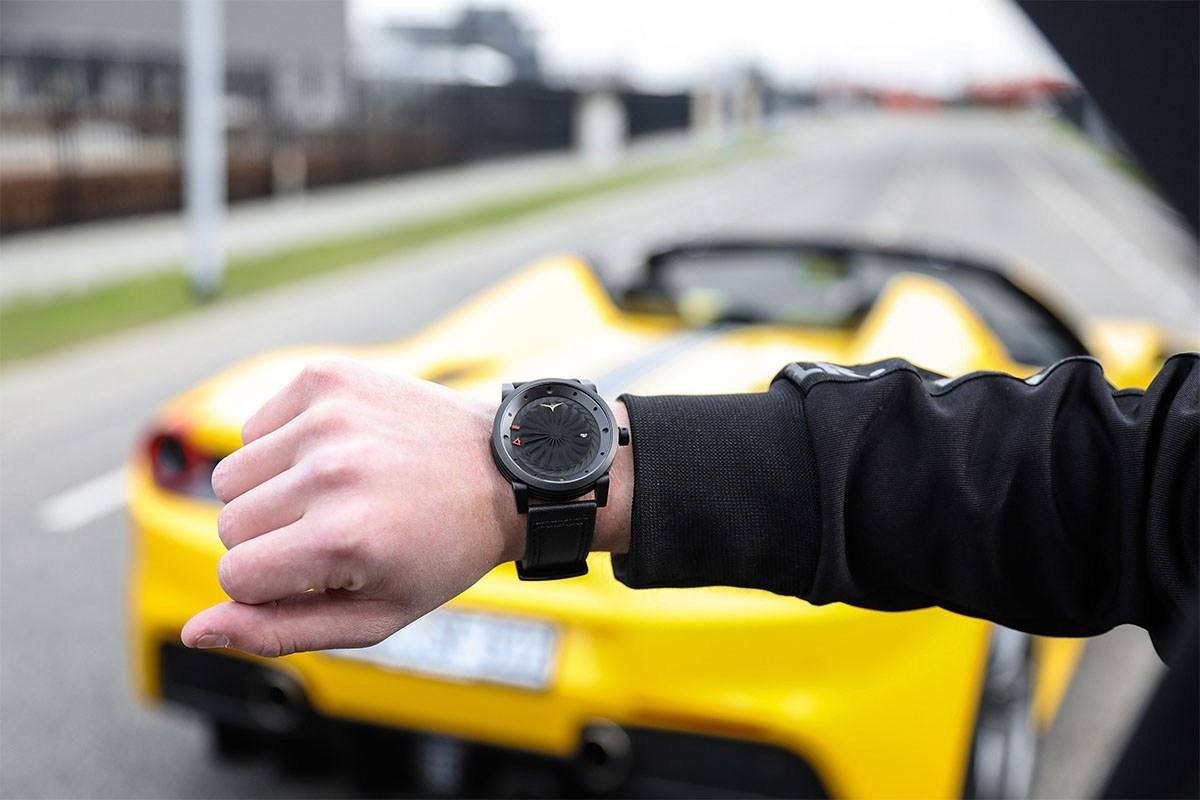 These Blade Collection watches appear like something out of the coolest sci-fi